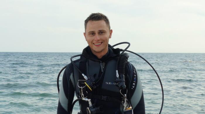 Инструктор 2 ранга NDL Марк Гора. Фото