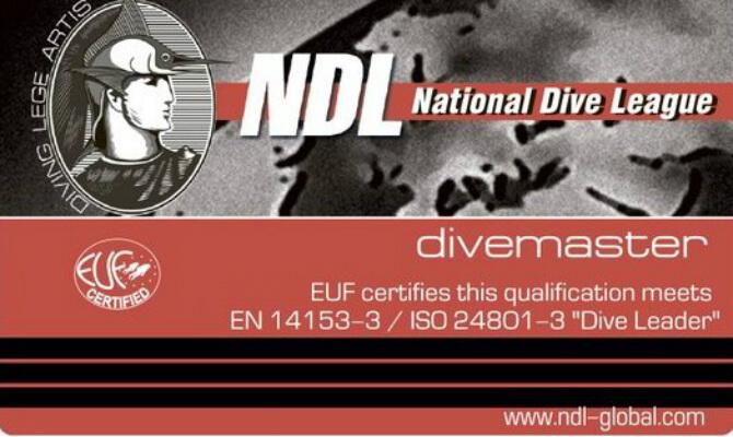 NDL Divemaster