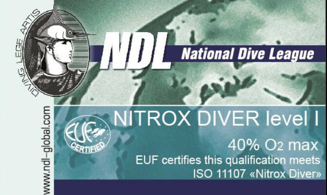 NDL Nitrox Diver
