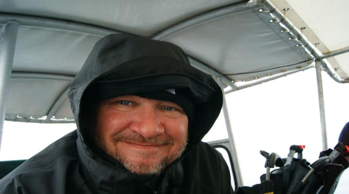 Капитан дайвбота Владимир Рябоконь. Фото