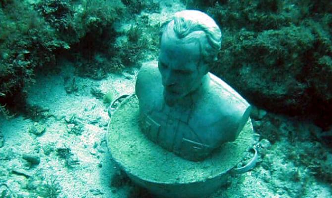 Тарханкуте появился первый в Советском Союзе подводный музей - Дзержинский