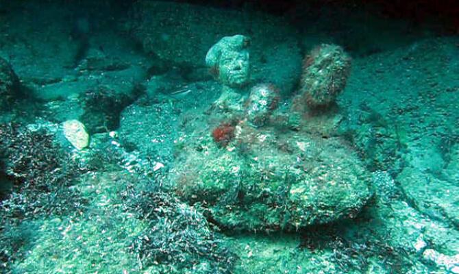 Тарханкут - первый в Советском Союзе подводный музей - Есенин