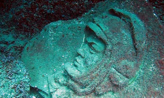 Тарханкут - первый в Советском Союзе подводный музей - Гагарин