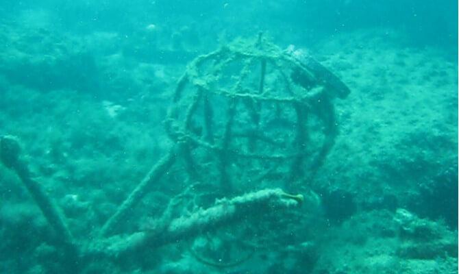 Тарханкут - первый в Советском Союзе подводный музей_1