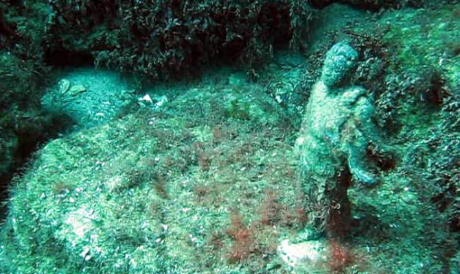 Тарханкут - первый в Советском Союзе подводный музей_2