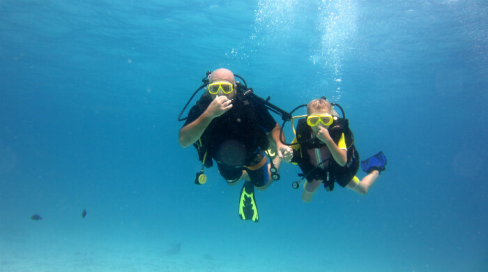 Подводная экскурсия (test dive) в Севастополе