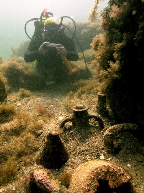 Даже начинающие дайверы могут увидеть в Севастополе древние амфоры ФОТО