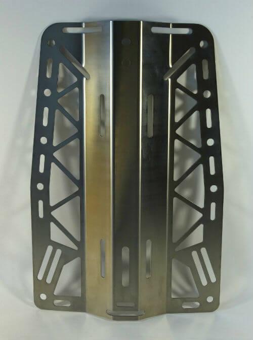 Фото сзади облегченной стальная спинка Deve Rite