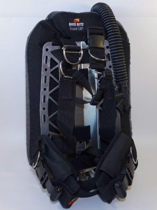 Компенсатор (BCD) DiveRite вид спереди