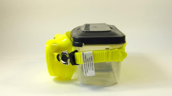 Маска Scubapro Trinidad 3 желтая - фото вида сбоку